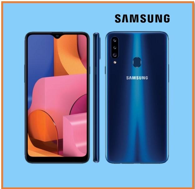 SAMSUNG A20S 3GB RAM 32GB STORAGE BLUE