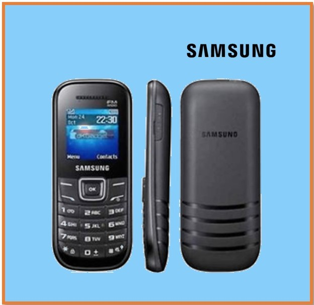 SAMSUNG E1200 FETURE PHONE BLACK