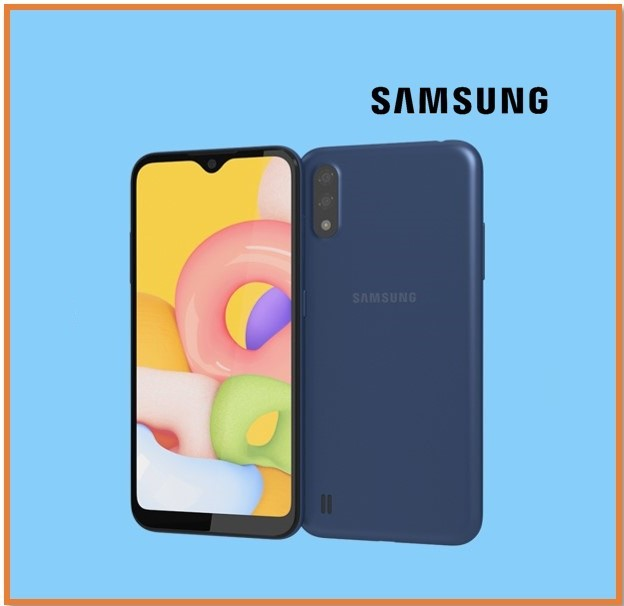 SAMSUNG A01 2GB RAM 16GB STORAGE BLUE