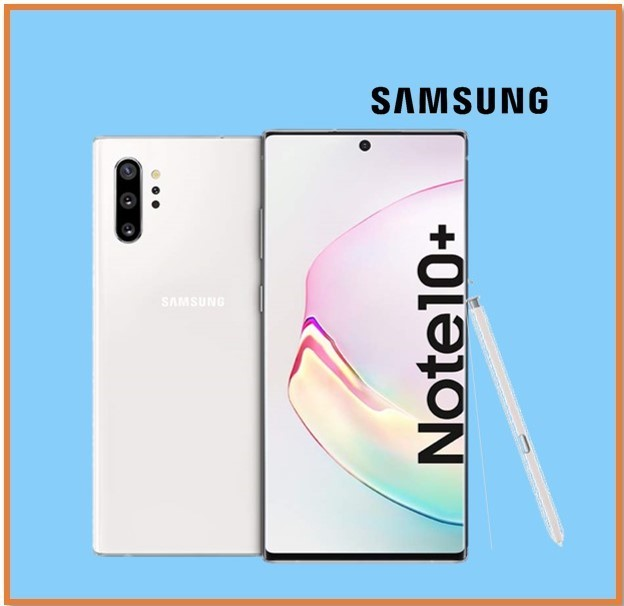 SAMSUNG NOTE 10+ 12GB RAM 256GB STORAGE SILVER