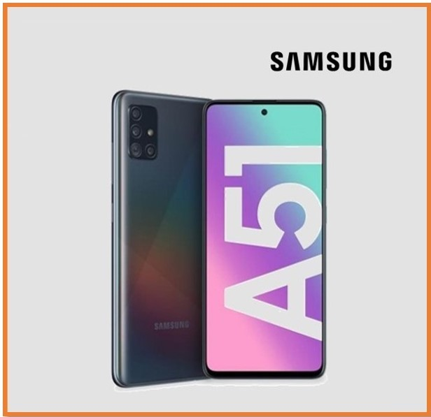 SAMSUNG A51 8GB RAM 128GB STORAGE BLACK