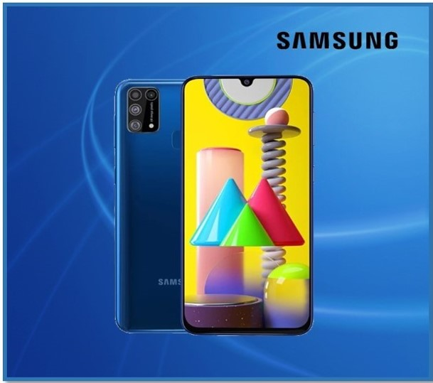 GALAXY M31 6GB RAM 128GB INTERNAL BLUE