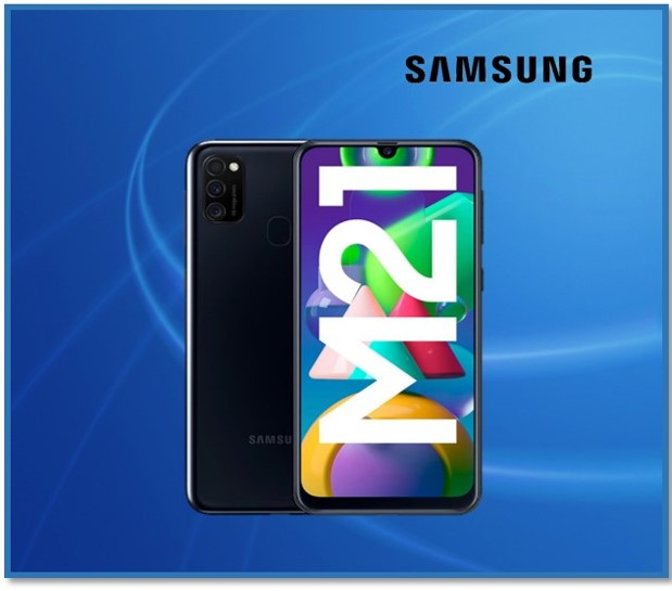 GALAXY M21 4GB RAM 64GB INTERNAL BLACK