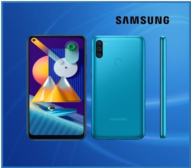 GALAXY M11 3GB RAM 32GB INTERNAL BLUE
