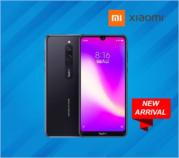 Xiaomi REDMI 8A DUAL 3GB RAM 64GB STORAGE BLACK