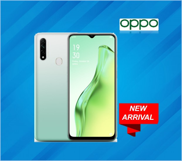 OPPO A31 4GB RAM 128GB STORAGE WHITE