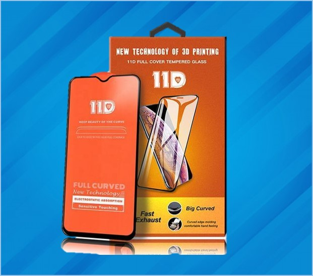 REDMI NOTE 8 11D FULL COVER TEMPERED GLASS