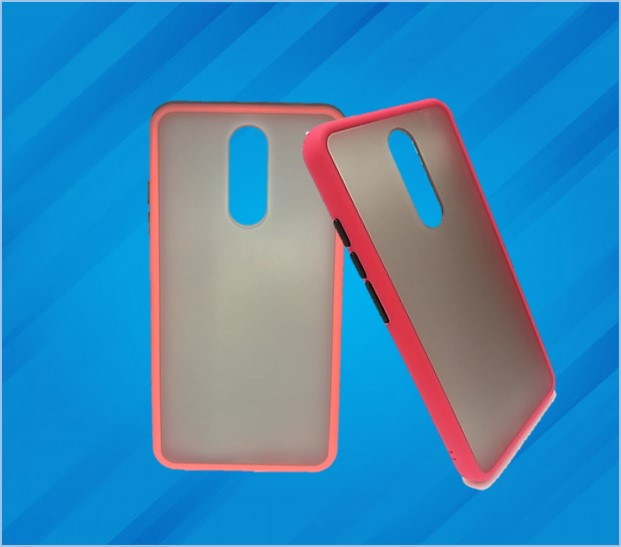 REDMI NOTE 8 HARD MAT CASE BACK COVER RED