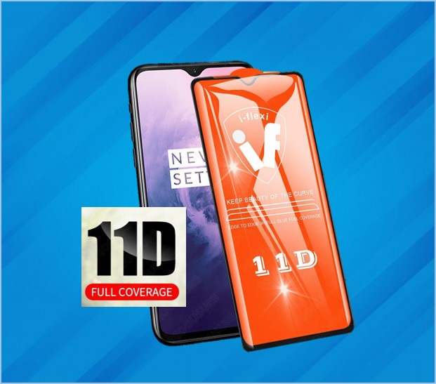 REDMI 8 & 8A 11D FULL COVER TEMPERED GLASS