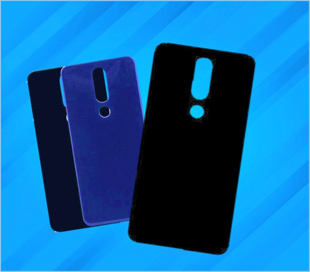 REDMI 8 RUBBER SPIGON BACK COVER BLACK