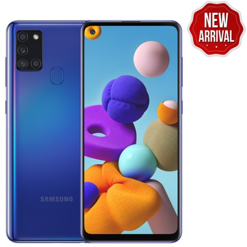 SAMSUNG A21S 6GB RAM 64GB STORAGE BLUE