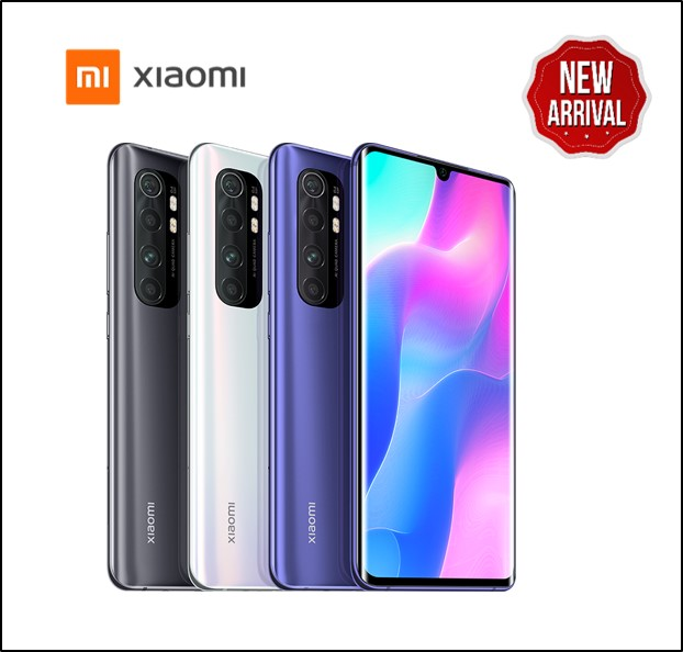 XIAOMI NOTE 10 LITE 8GB 128GB  PURPLE