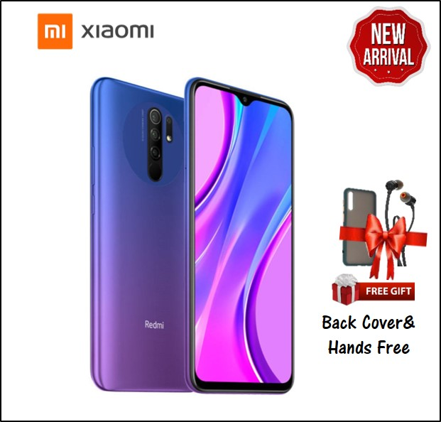REDMI 9 4GB RAM 64GB STORAGE BLUE