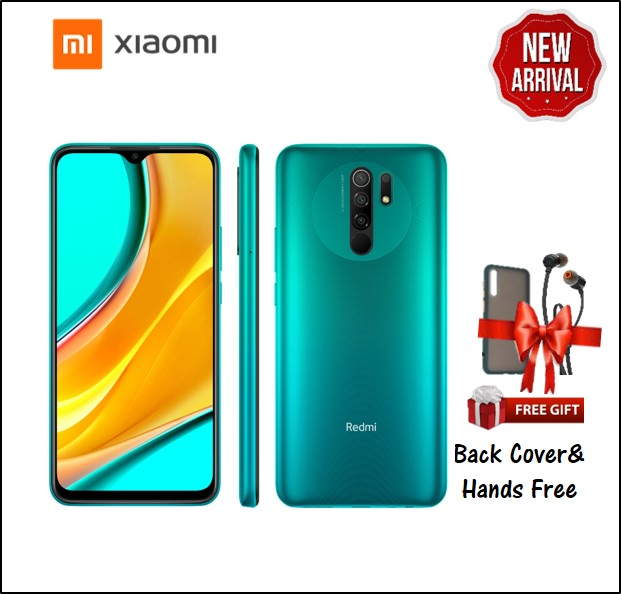 REDMI 9 4GB RAM 64GB STORAGE GREEN