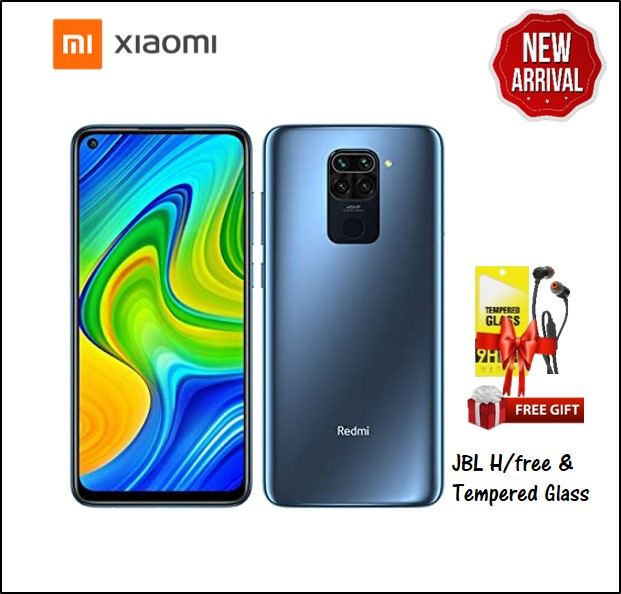 REDMI NOTE 9 3GB RAM 64GB STORAGE BLACK