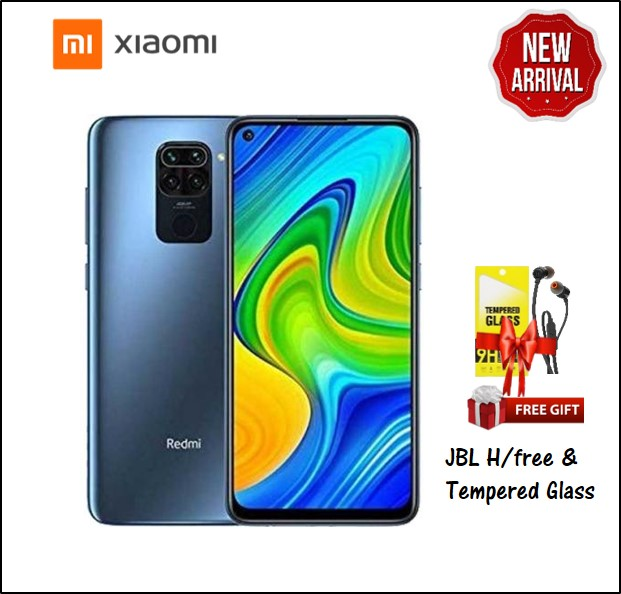 REDMI NOTE 9 4GB RAM 128GB STORAGE BLACK