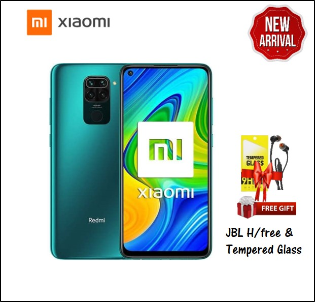 REDMI NOTE 9 4GB RAM 128GB STORAGE GREEN